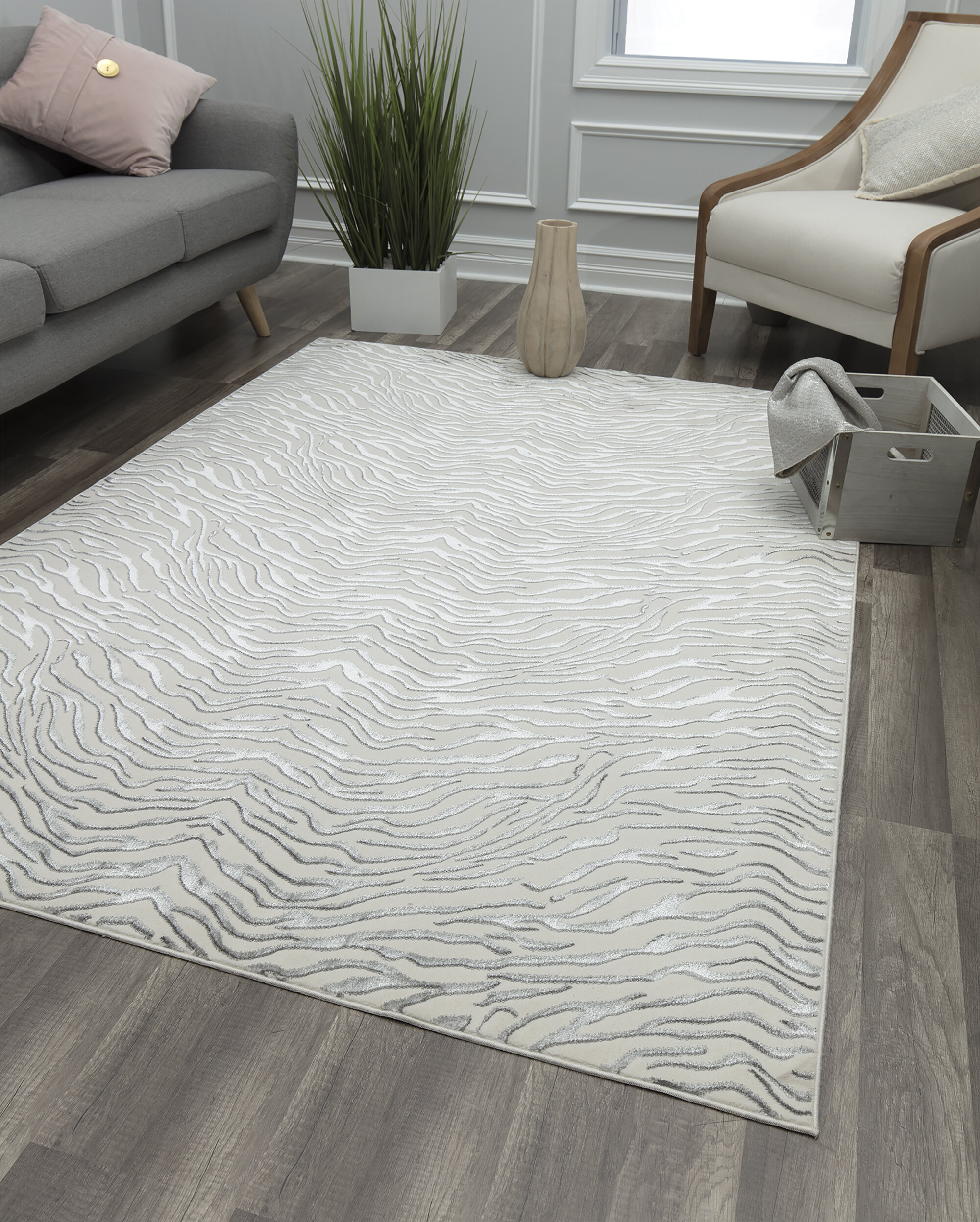 8 X 10 Glam Area Rugs You Ll Love In 2021 Wayfair
