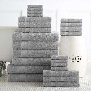 Gray Silver Bath Towels Youll Love Wayfair