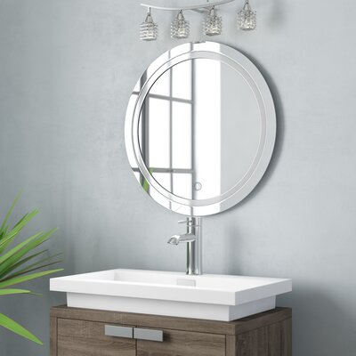 Lighted Round Mirrors You Ll Love In 2019 Wayfair