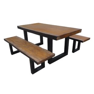 Neva 3 Piece Dining Set
