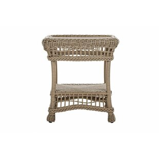 Denman Outdoor Garden Wicker Side Table