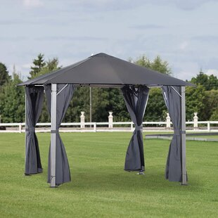 Zwilling 3m X 3m Metal Pop-Up Gazebo By Sol 72 Outdoor