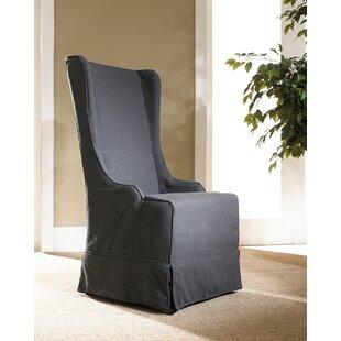 Sloan Box Cushion Wingback Slipcover By One Allium Way