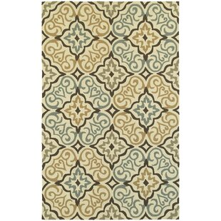 Atrium Floral Lattice Indoor/Outdoor Area Rug