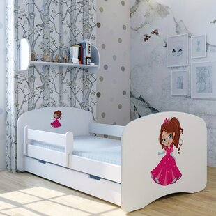 Princess Julia Convertible Toddler Bed With Drawer By Zoomie Kids