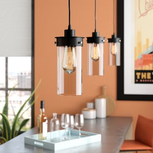 Kitchen island lighting youll love wayfair millet 3 light kitchen island pendant aloadofball Gallery