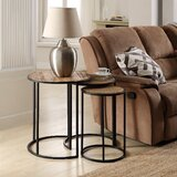 Becontree Frame End Table Set by 17 Stories