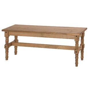 Pinard Solid Wood Bench