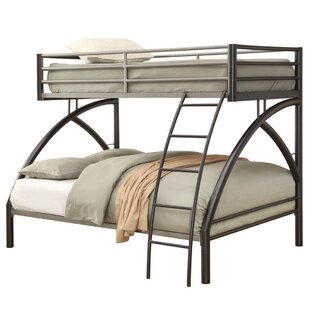 Harriet Bee Armiead Bunk Twin Over Full Bed