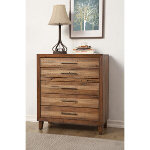 Blake 5 Drawer Chest by Mistana