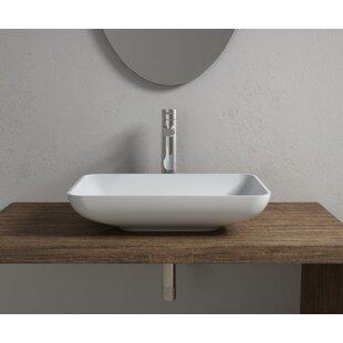 Inexpensive Stone Rectangular Vessel Bathroom Sink By InFurniture