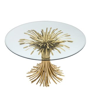 Bonheur Sheaf Wheat Dining Table Eichholtz
