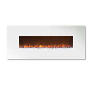 Ambiance Custom Linear Delux 2 Recessed Wall Mounted Electric Fireplace by Modern Flames