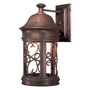 Sage Ridge 1-Light Outdoor Wall Lantern by Great Outdoors by Minka