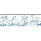 Offerman 15' x 6 Watercolor Wallpaper Border by Bay Isle Home