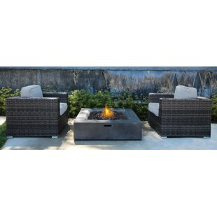Bracknell 3 Piece Rattan with Cushions