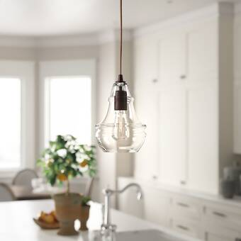 Moulton 1 Light Single Globe Pendant Reviews Birch Lane