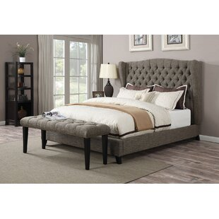 Bish Queen Upholstered Panel Bed by Darby Home Co