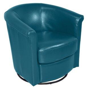Reviews Marvel Swivel Barrel Chair ByPorter International Designs