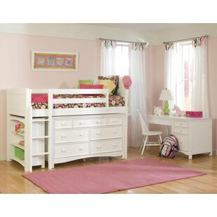 Buying Bonneau Twin Low Loft Bed with Storage ByHarriet Bee