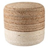 Macek 18'' Round Pouf Ottoman by Breakwater Bay