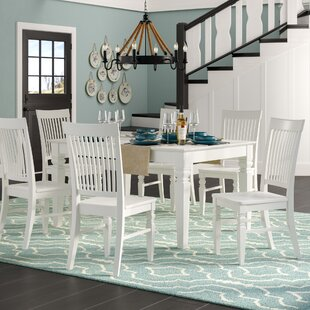 Pennington 5 Piece Wood Dining Set by Bea..
