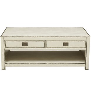 Emmanuel Coffee Table by House of Hampton Best