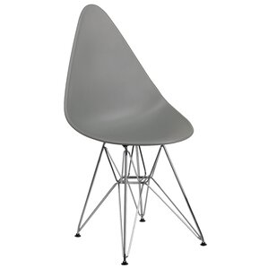 Resto Teardrop Plastic Dining Chair