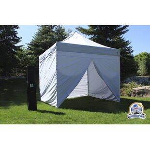 10 Ft. W x 10 Ft. D Aluminum Pop-Up Canopy by UnderCover