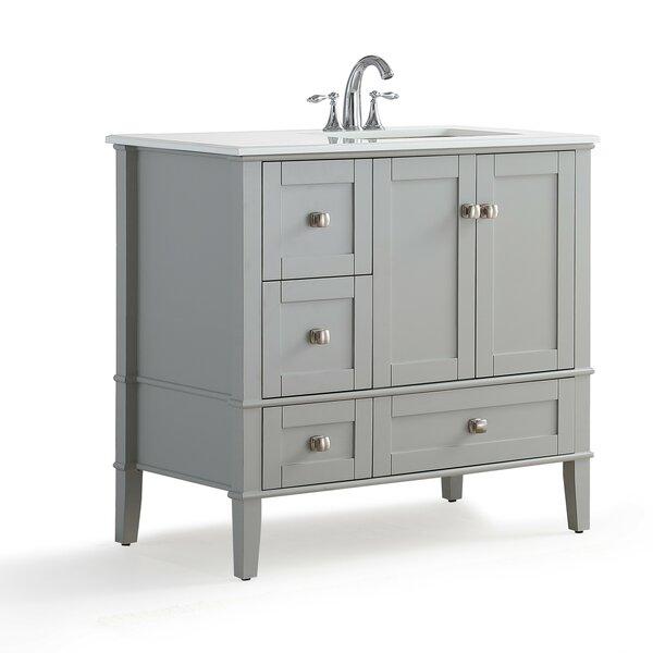 Vanity Top Right Offset Sink | Wayfair