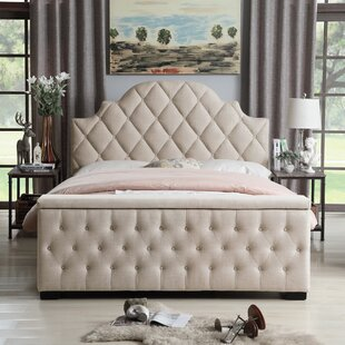 Everly Quinn Norfleet Tufted Upholstered Storage Platform Bed