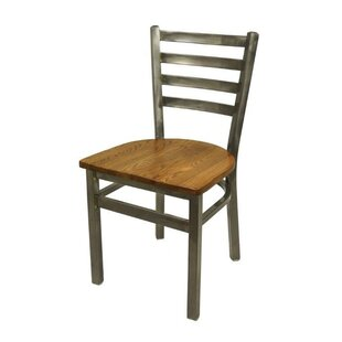 BFM Seating Lima Solid Wood Dining Chair