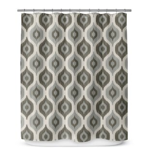 George Oliver Underhill Cotton Blend Shower Curtain