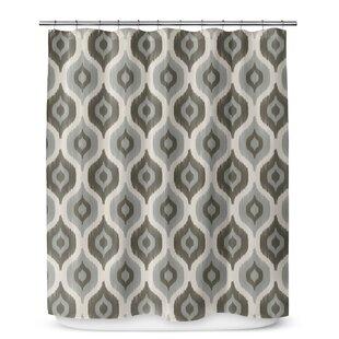George Oliver Underhill Cotton Blend Shower Curtain
