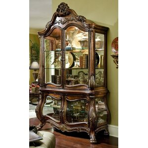 Chateau Beauvais Lighted China Cabinet by Michae..