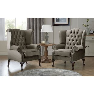 Tamesbury Wingback Chair By Ophelia & Co.