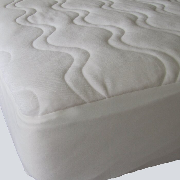 Astounding Omni Plush Velour 1 Cotton Mattress Pad Alphanode Cool Chair Designs And Ideas Alphanodeonline
