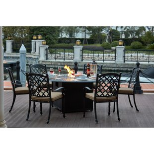 Waconia 7 Piece Dining Set with Cushions by Darby Home Co