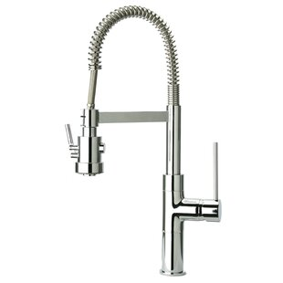 LaToscana Elba Pull Out Touch Single Handle Kitchen Faucet