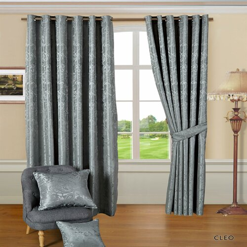 Cleo Eyelet Room Darkening Thermal Curtains Textile Home Pan