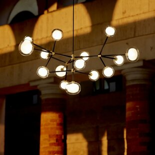 Oggetti Tooy Nabila 16-Light Sputnik Chandelier