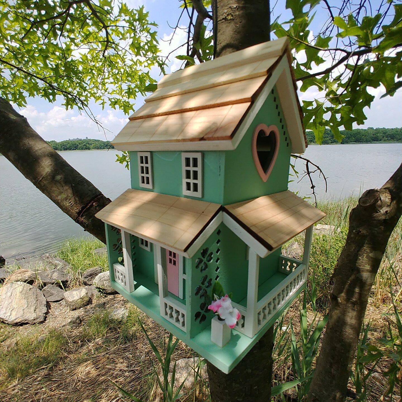 Home Bazaar Nestling Series Lover S Lane Cottage8 In X 6 In X 6 Inbirdhouse Wayfair