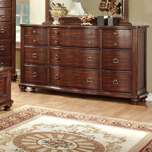 Harrelson 9 Drawer Dresser