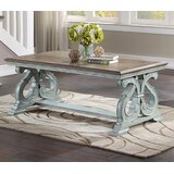 Griffen Trestle Coffee Table by One Allium Way®