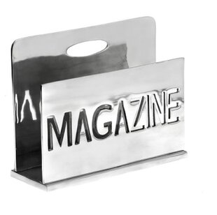 Metal Magazine Rack By Mazali