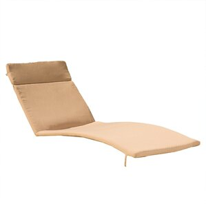 Christian Down Outdoor Chaise Lounge Cushion (Set Of 2)