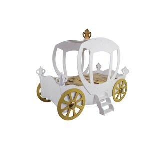 Purchase Princess Carriage Toddler Car Bed by Plastiko Reviews (2019) & Buyer's Guide