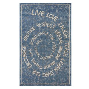 Judkins Blue Indoor/Outdoor Area Rug