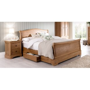 Storage Sleigh Bed By Union Rustic