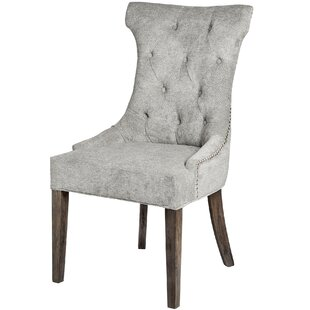 Ayler High Wing Ring Backed Upholstered Dining Chair By Rosalind Wheeler